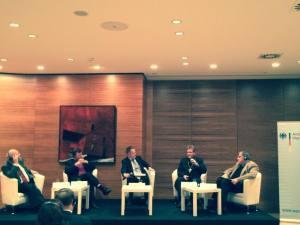 Dyskusja panelowa w Ambasadzie Niemiec (Warszawa) 4 grudnia 2014 r.